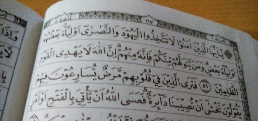 Surat al-Maidah ayat 51