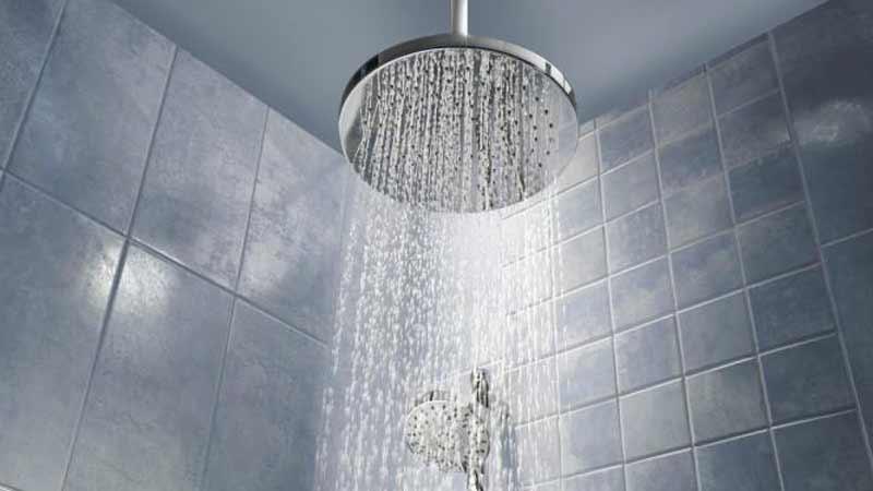 wudhu dan mandi pakai air hangat