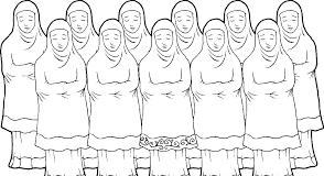 Haruskah Posisi Imam Perempuan Berada Di Antara Saf Makmum?