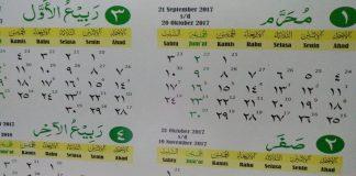 penetapan sejarah kalender hijriyah