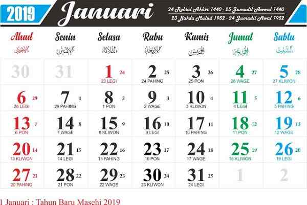 Kalender Masehi Tidak Sepenuhnya Milik Non Muslim Bincang Syariah
