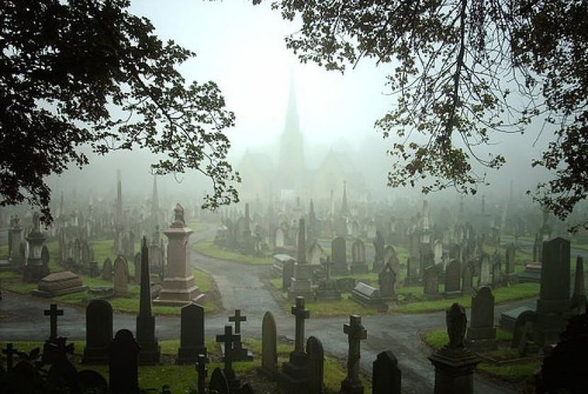 kuburan non-muslim