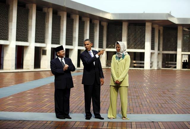 non-muslim masuk masjid