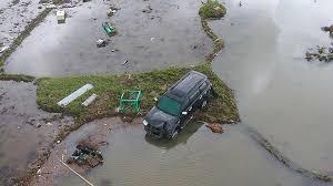 harta yang terbawa tsunami