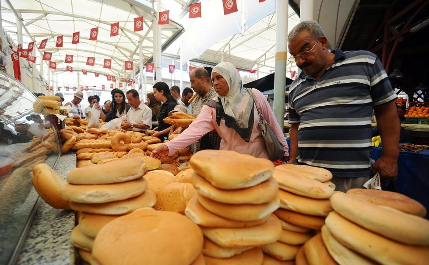 Kuliner berbuka puasa di salah satu Pasar di Tunisia