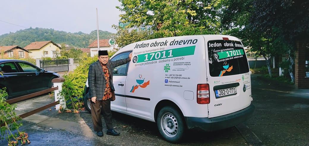 NU Care jajaki kerjasama dengan lembaga sosial di Bosnia