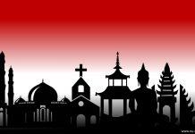menghormati simbol agama lain