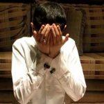 mengusap wajah setelah berdoa