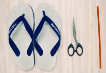 Sandal yang Dipakai Putus