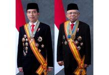 Jokowi dan K.H. Ma'ruf Amin