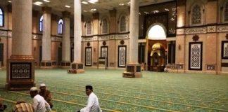 urusan dunia di dalam masjid