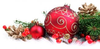 menjual keperluan natal
