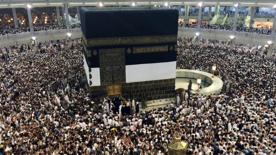 dibangun di Makkah