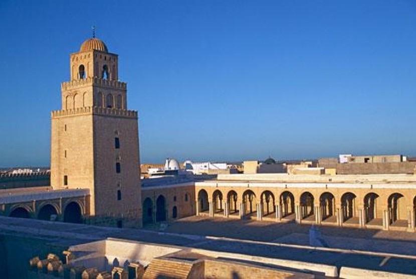 masjid uqbah bin nafi