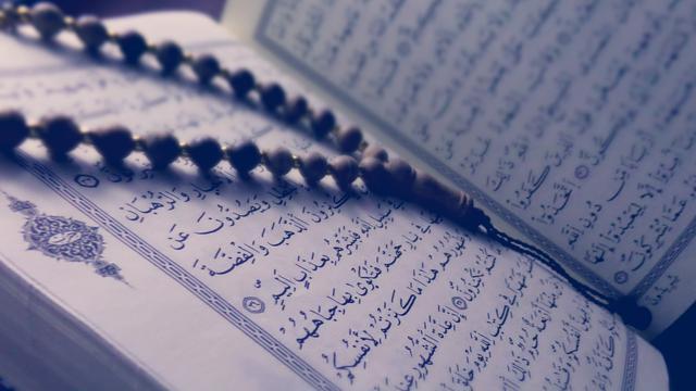 membaca Al-Quran sebelum memulai acara