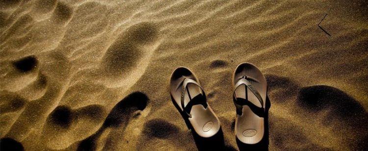 sandal terkena najis