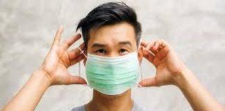menimbun masker