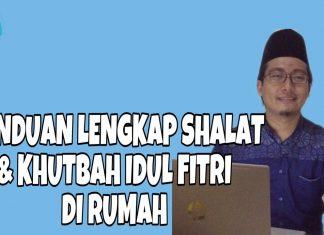 Idul Fitri di rumah