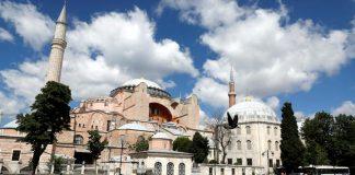 Hagia Sophia jadi masjid