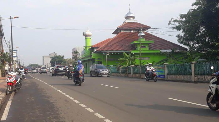 Tanah Wakaf Masjid Digunakan Untuk Jalan