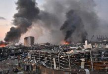 Bom Meledak di Lebanon