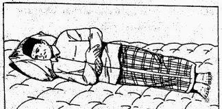 Tata Cara Shalat Sambil Berbaring