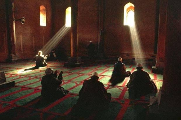 niat i'tikaf di masjid