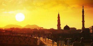 membangun kota Madinah