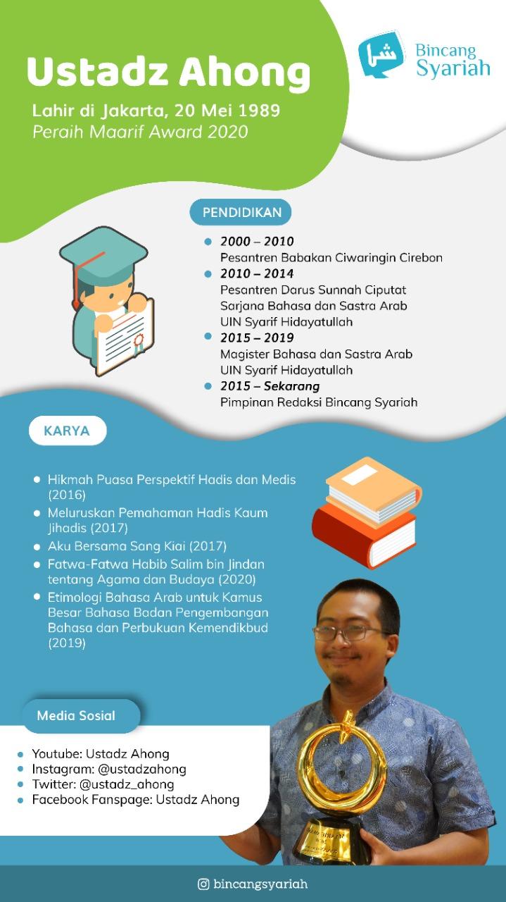 Biografi Ustaz Ahong