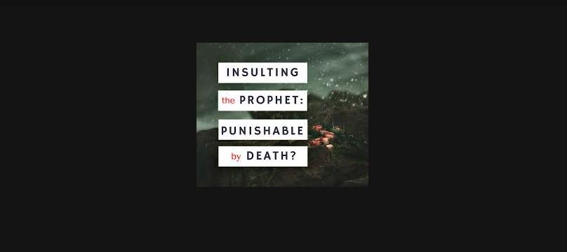 Hukuman Bagi Para Penista Nabi