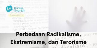 radikalisme, ekstremisme, dan terorisme