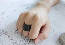 memakai cincin di jari tengah
