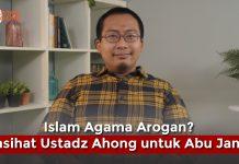 Abu Janda Dinasihati Ustadz Ahong