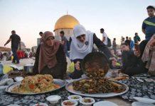 makan dan minum dalam masjid