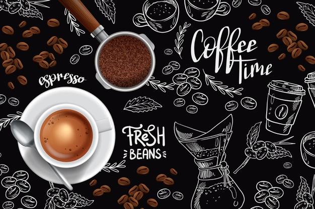 niat ketika hendak minum kopi