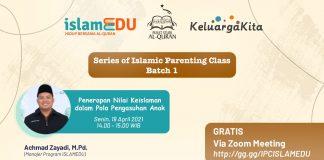 Series of Islamic Parenting Class Batch 1 by ISLAMEDU
