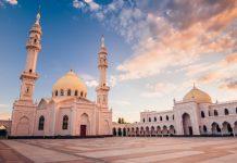 buka bersama dalam masjid